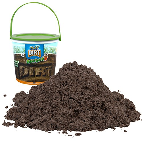 Play Dirt Bucket (3 Lb) - Unique Sand for Burying and Digging Fun by Sands Alive