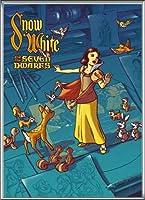ポスター ジェームス フレームス Mondo Snow White 白雪姫 Cyclops Print 限定305枚 手書きナンバリング入り 額装品 アルミ製ハイグレードフレーム(シルバー)