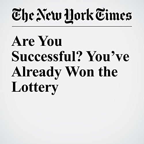 Are You Successful? You've Already Won the Lottery audiobook cover art