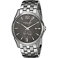 Hamilton Jazzmaster Charcoal Black Dial Men's Watch