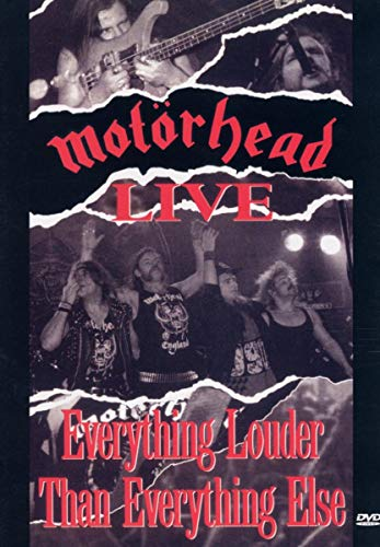 Motörhead Live - Live: Everything Louder Than Everything Else