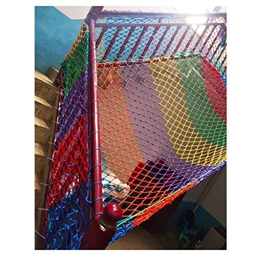 Geyao ZGQSW Kindersicherheitsnetz, Kindergartendekorationsnetz, Balkonschutznetz, Treppenschutznetz, Zaunnetz, Webenetz, 2 m3 m (Größe: 1 x 2 m) (Größe: 1 x 2 m)