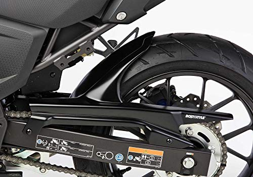 BODYSTYLE Hinterradabdeckung kompatibel mit KAWASAKI Z750 2012-2012 ZR750L