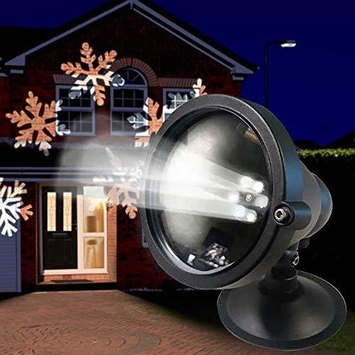 Laser-Projektor »Schneeflocke« mit Fernbedienung und Timer Weihnachten