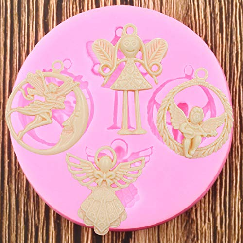 ZPZZPY Silicone Mold Birthday Party Cake Decoration Tool Fondant Baking Chocolate Candy Mud Mold
