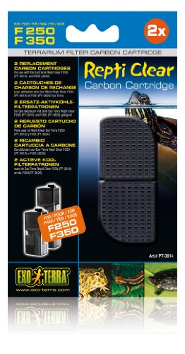 EXO TERRA Exoterra Hygromètre pour Reptile Cartouche Charbon Repticlear