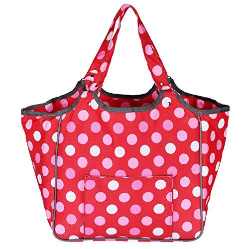 Bolsa de almacenamiento de hilo, patrón de puntos, herramientas de costura, organizador, bolsa,...
