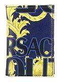Versace Jeans Couture hombre Logo baroque fundas para tarjetas de visita blu