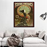 Danjiao Psychic Fortunes Print Jugendstil Gypsy Circus