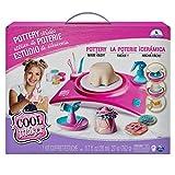 Cool Maker- Pottery Cool Studio, Kit di Lavorazione con Ruota per Ceramica per Bambini dai 6 Anni in su (L'Edizione Potrebbe Variare), 6027865