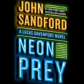 Neon Prey audiobook cover art