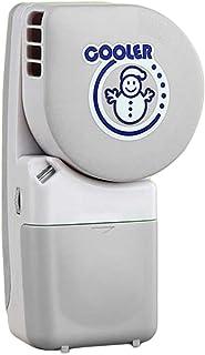 Innovadoras de mano sin aspas del ventilador de palma de carga USB enfriador de aire mini ventiladores sonriendo aire acondicionado, cenizas