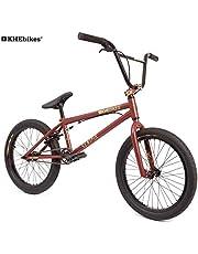 KHE Bmx bicicleta Centrix 20pulgadas patentado affix 360° Rotor solo 10,5kg. Negro de antracita rojo de color marrón