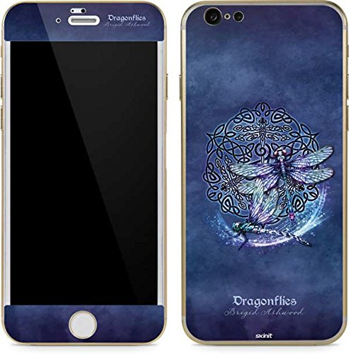 Skinit Decal Phone Skin Compatible with iPhone 6/6s - Originally Designed Dragonfly Celtic Knot Design