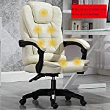 ZXL Office Boss Chair Ergonomic Computer Gaming Chair Internet Cafe Seat Household Reclining Chair,A,C