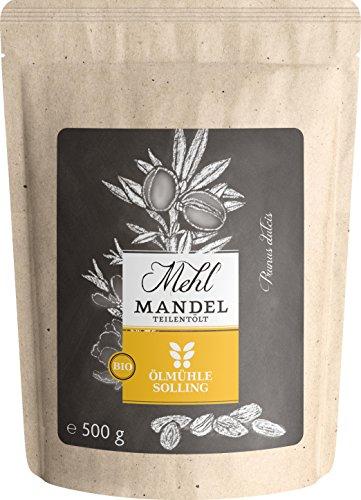 Ölmühle Solling Bio Mandelmehl, 1er Pack (1 x 500 g)