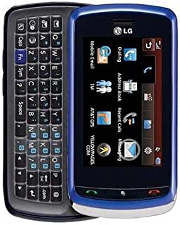 LG Xenon GR500 Unlocked Phone with QWERTY Keyboard, 2MP Camera, GPS and Touch Screen (Blue)