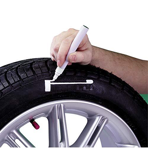 Grayston CM C444Rotulador para neumáticos, Color Blanco