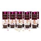 Kingsbridge Chocolate - Marshmallow Hot Chocolate Spoons - 5 Pack   A Stir