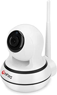 HF HFWS 1080P HD Wireless Security Camera Pan/Tilt 2.4Ghz With Two-Way Audio & Night Vision, WiFi Home Camera for Baby/Elder/Pet/Nanny/Homecare