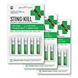 Sting-Kill First Aid Anesthetic Swabs, Instant Pain + Itch Relief From...