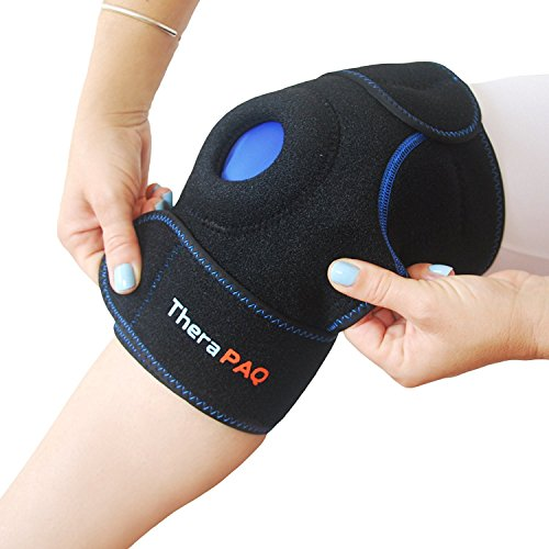 Hot-Cold Knee Support Brace