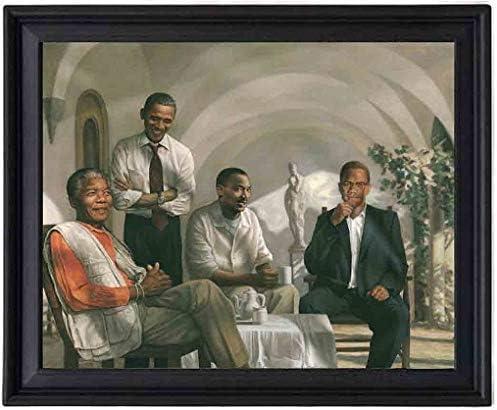 EV The Pioneers Poster Picture Frame - Mandela - Obama - MLK Mar