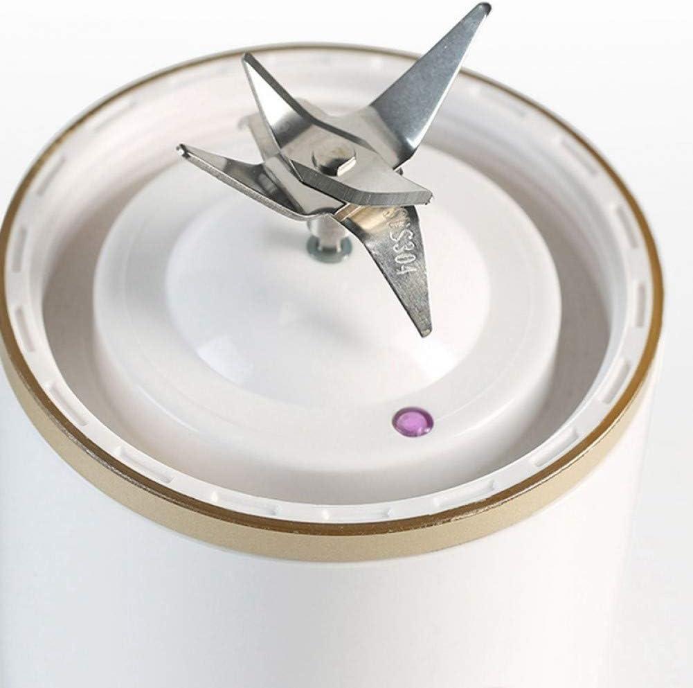Mini mélangeur portatif, Petit Presse-Agrumes électrique portatif de Presse-Fruits de ménage Rechargeable Pink