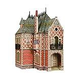 CLEVER PAPER- Puzzles 3D Casa de muñecas Victoriana II (14329)