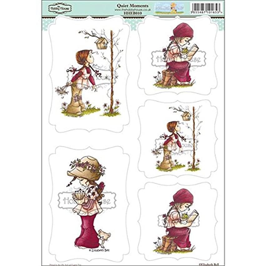 Hobbyware House HHEB010 Elisabeth Bell Topper Sheet, 8.3 by 12.2-Inch, Quiet Moments