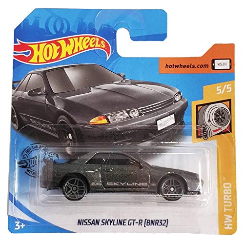 FM Cars Hot Wheels Skyline GT-R BNR32 HW Turbo 5/5 (2/250)