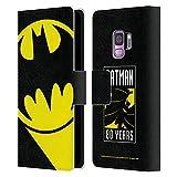 Head Case Designs Officiel Batman DC Comics Bat Signal Logos Coque en Cuir à Portefeuille...