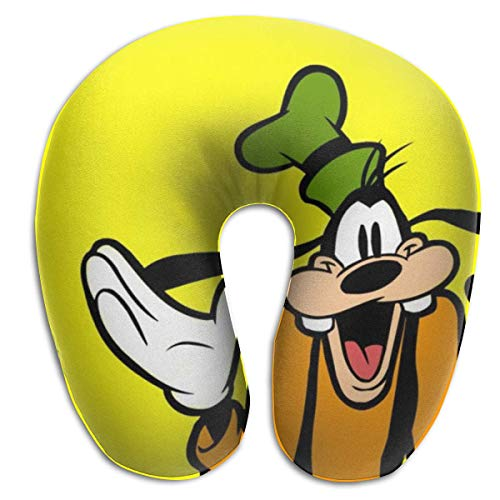 Hdadwy Goofy Goof Travel Neck Pillow Breathable and Comfortable Memory Cotton U-Shaped Neck Pillows