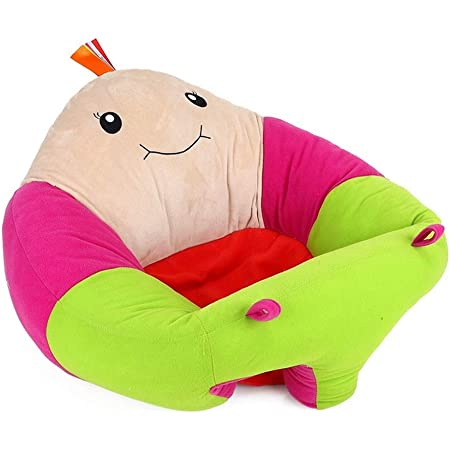 Baby Sitting Chair, Infant Support Seat Plush Soft Animal Shaped Portable Baby Sofa Comfortable for Newborn 3-24 Months (Turtle Sofa)