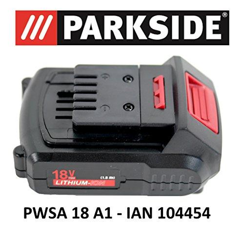 PARKSIDE AKKU 18V 1,5Ah PAP 18-1.5 A1 für PWSA 18 A1 - IAN 104454 Akku Winkelschleifer