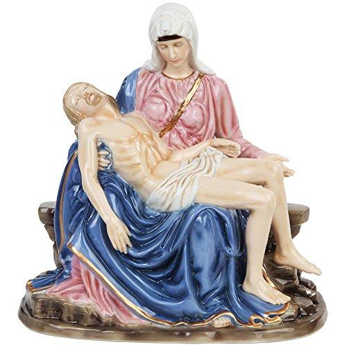 PTC Figur Michelangelos La Pieta Maria mit Jesus, aus Porzellan