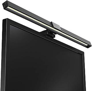 Sanwer モニターLEDライト USBライト デスクトップライト スクリーンバー 掛け式ライト USB給電式 5段階輝度調節可能 非対称光源 省エネ PC 作業 読書 寝室 卓上に対応 目にやさしい