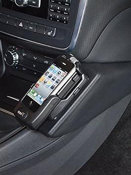 Kuda 091890 Halterung Echtleder Schwarz Für Mercedes Elektronik