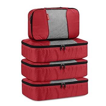 Gonex Sac Organisateur de Bagage Valise Sacoche Vêtement Rangement Voyage Alvéoles Ajourées Aération