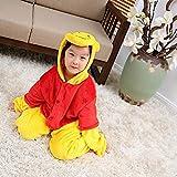 Qaoping Ropa de Dormir Pijama Velvet para niños Adultos Disfraces de Juego de...