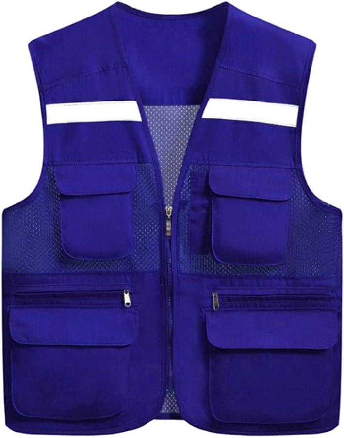 HYFDGV Fishing Max 83% Max 42% OFF OFF Vests for Men Breathable Vest Multi Men's