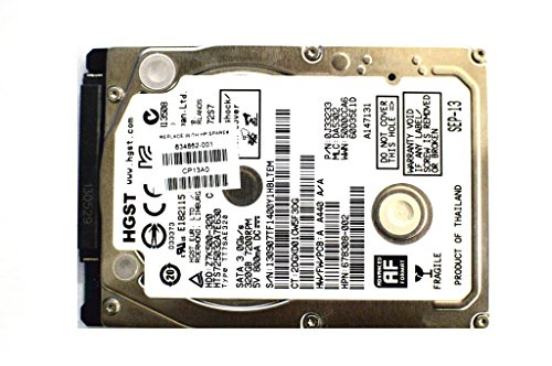 HP 634862-001 320GB SATA hard disk drive - 7,200 RPM, 2.5-inch form factor - Raw drive, does not include hard drive bracket, hard drive connector adapter, or screws