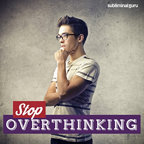 Stop Overthinking audiobook cover art