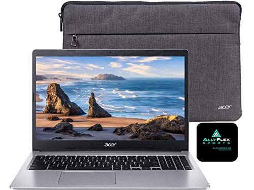 Acer Chromebook 39,6 cm (15,6 Zoll) HD-Laptop für Business und Studenten, Intel Celeron N4000, 4 GB Speicher, 32 GB eMMC, Webcam, USB-C, WLAN, Bluetooth, Chrome OS + AllyFlex Mousepad