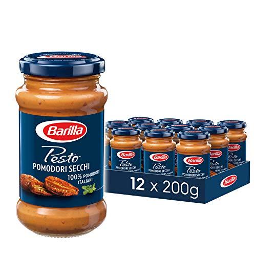 Barilla rotes Pesto Pomodori Secchi – Pesto 12er Pack (12x200g)