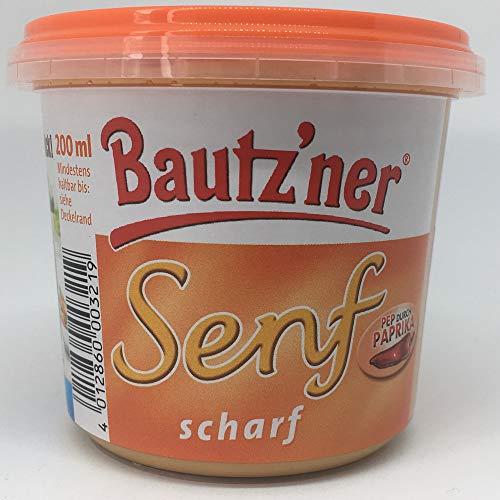 Bautzner Senf scharf - nostalgische DDR Kultprodukte - DDR Artikel