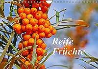 Reife Fruechte (Wandkalender 2022 DIN A4 quer): Lassen Sie sich mit Obst, frisch von Baum und Strauch, durch das Jahr begleiten. (Monatskalender, 14 Seiten )
