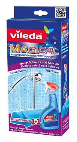 Vileda Magical zur Schmutz-Vorsorge, Magical Tuch + 500ml Flüssigkeit - bekannt aus TV