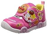 アンパンマン スニーカー 運動靴 男の子 女の子 14~18cm キッズ APM C147 ピンク 16.0 cm 2E