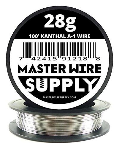 Kanthal A1 - 100' - 28 Gauge Resistance Wire